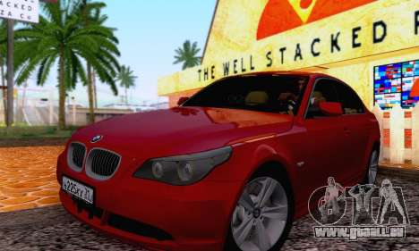 BMW 530xd pour GTA San Andreas
