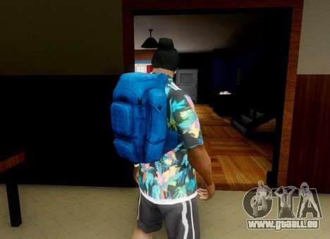 Rucksack aus der Verwesung für GTA San Andreas zweiten Screenshot