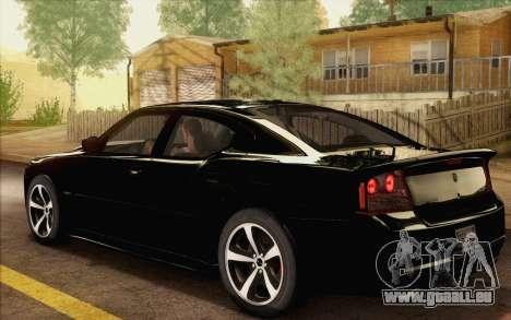 Dodge Charger SRT8 2006 pour GTA San Andreas laissé vue