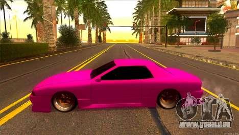 Elegy New Drifter v2.0 für GTA San Andreas linke Ansicht