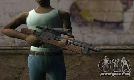 Walther WA2000 für GTA San Andreas dritten Screenshot