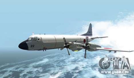 Lockheed P-3 Orion FAJ für GTA San Andreas