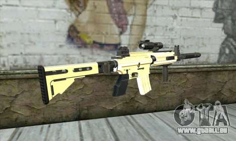 Golden M4A1 pour GTA San Andreas deuxième écran