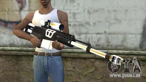 Golden Sniper Rifle pour GTA San Andreas troisième écran