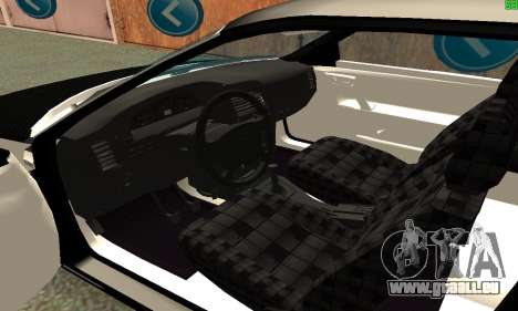 VAZ-21123 TURBO-Aufladung für GTA San Andreas zurück linke Ansicht