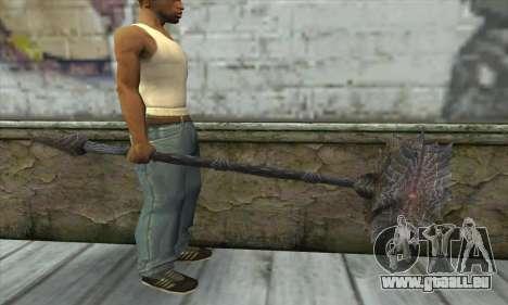 L'axe de Skyrim pour GTA San Andreas troisième écran