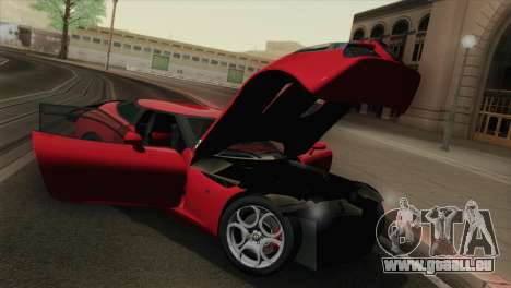 Alfa Romeo Zagato TZ3 2012 pour GTA San Andreas vue intérieure