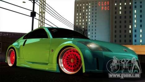 Nissan 350Z Minty Fresh für GTA San Andreas