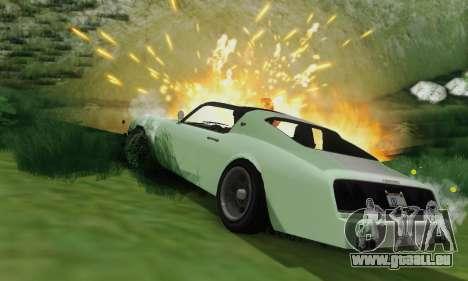 Imponte Phoenix из GTA 5 pour GTA San Andreas vue de dessus