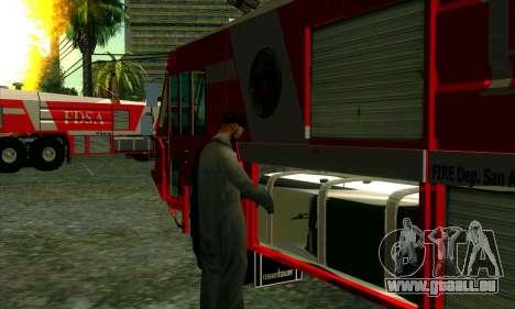 Réaliste de la station de feu à Las Venturas pour GTA San Andreas