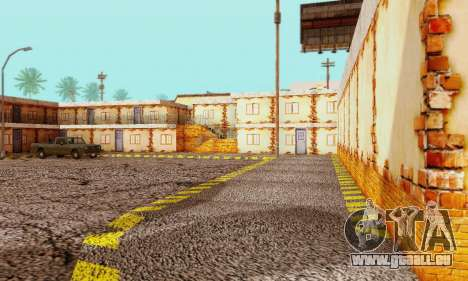 La nouvelle texture de pizzerias et les services pour GTA San Andreas cinquième écran