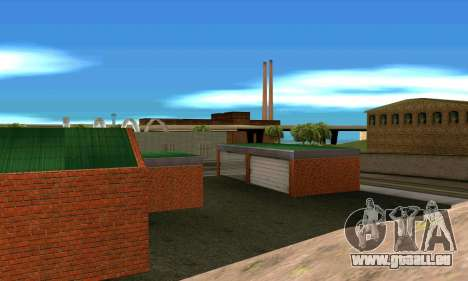 Neue garage in San Fierro für GTA San Andreas her Screenshot