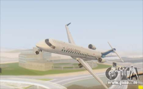 Garuda Indonesia Bombardier CRJ-700 pour GTA San Andreas vue intérieure