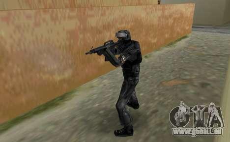 Chasseur de Spetsnaz russe de CS:CZ GTA Vice City pour la deuxième capture d'écran