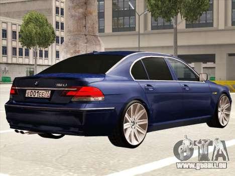 BMW 760Li für GTA San Andreas rechten Ansicht
