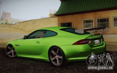 Jaguar XKR-S GT 2013 für GTA San Andreas linke Ansicht