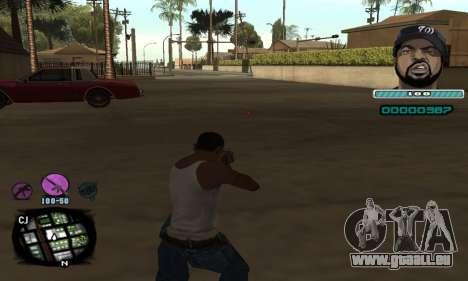 C-HUD Ice Cube pour GTA San Andreas deuxième écran
