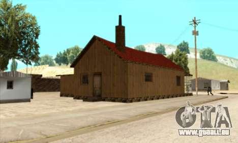 Nouvelle maison de Sijia dans El Quebrados v1.0 pour GTA San Andreas troisième écran