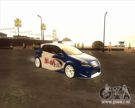 Volkswagen Golf из NFS Most Wanted für GTA San Andreas
