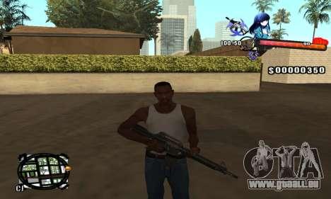 Anime C-Hud pour GTA San Andreas