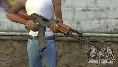 AK-47 Assault Rifle für GTA San Andreas dritten Screenshot
