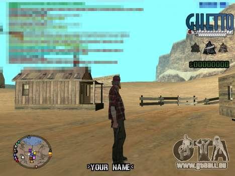 C-Hud Ghetto für GTA San Andreas dritten Screenshot
