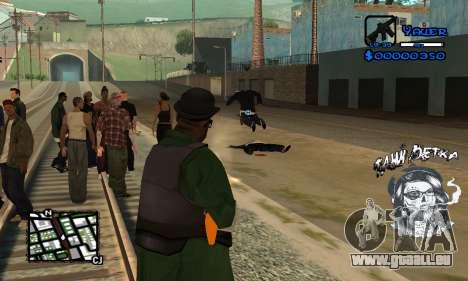 C-HUD Tawi Detka für GTA San Andreas