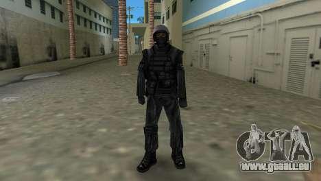 Chasseur de Spetsnaz russe de CS:CZ GTA Vice City pour la troisième écran