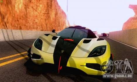 Koenigsegg One 2014 pour GTA San Andreas