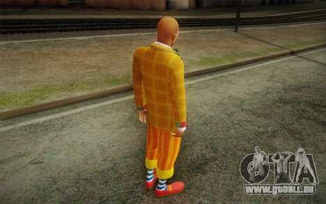 Le clown de GTA 5 pour GTA San Andreas troisième écran
