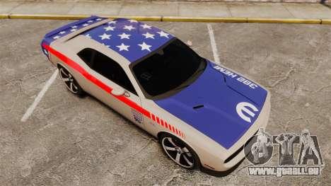 Dodge Challenger SRT8 2012 pour GTA 4 Salon