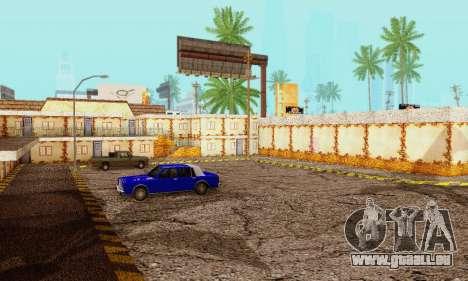 La nouvelle texture de pizzerias et les services pour GTA San Andreas quatrième écran