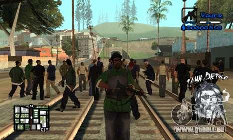 C-HUD Tawi Detka pour GTA San Andreas deuxième écran