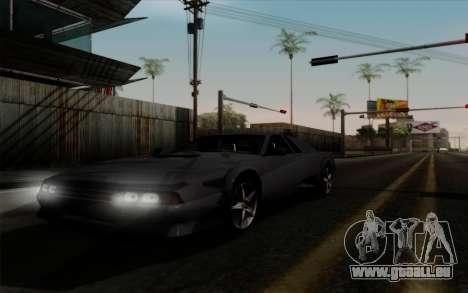 Cheetah v2 für GTA San Andreas zurück linke Ansicht