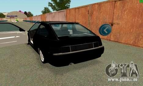 VAZ-21123 TURBO-Aufladung für GTA San Andreas rechten Ansicht