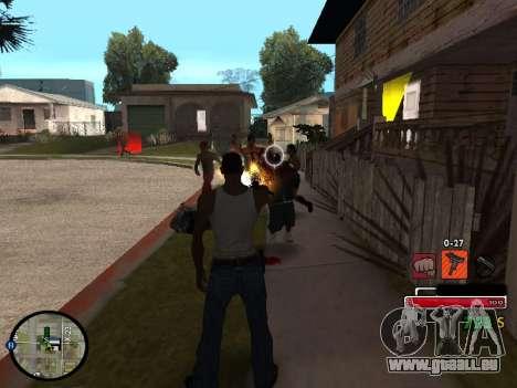 C-HUD by Martin für GTA San Andreas dritten Screenshot