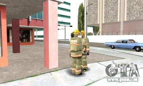 Realistische Feuerwehr-station in Los Santos für GTA San Andreas fünften Screenshot