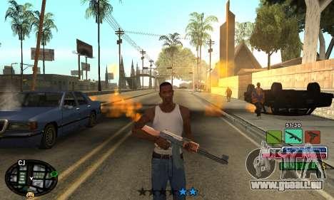 C-HUD Rainbow pour GTA San Andreas deuxième écran