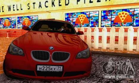 BMW 530xd pour GTA San Andreas laissé vue