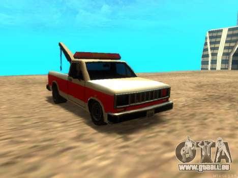 Neue Schlepptau (Bobcat) für GTA San Andreas
