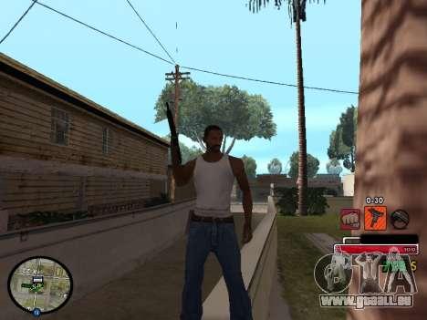 C-HUD by Martin pour GTA San Andreas deuxième écran