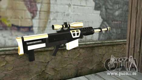 Golden Sniper Rifle für GTA San Andreas zweiten Screenshot