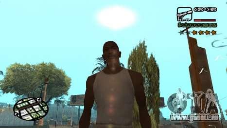 Nouvelle police V.3 pour GTA San Andreas pour GTA San Andreas troisième écran