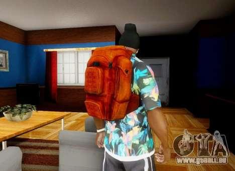 Sac à dos à partir de l'État de Délabrement pour GTA San Andreas quatrième écran