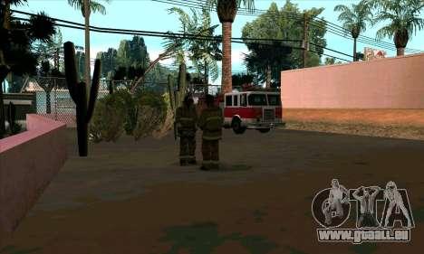 Réaliste de la station de feu à Las Venturas pour GTA San Andreas deuxième écran