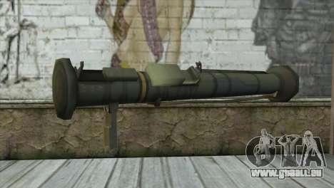 AT4 Rocket Launcher pour GTA San Andreas