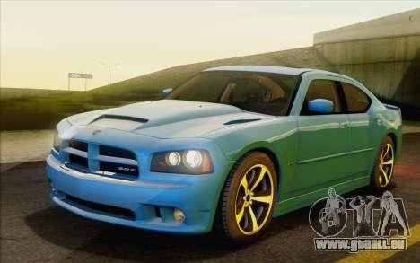 Dodge Charger SRT8 2006 pour GTA San Andreas vue arrière