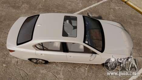 Lexus GS 300h für GTA 4 rechte Ansicht