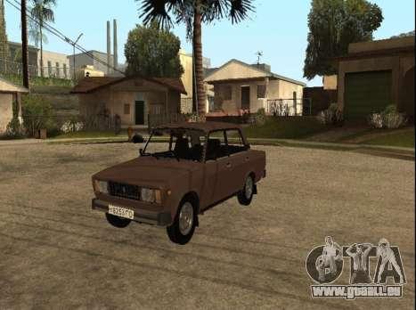 VAZ 2105 de la première version pour GTA San Andreas