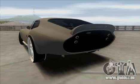Shelby Cobra Daytona für GTA San Andreas linke Ansicht